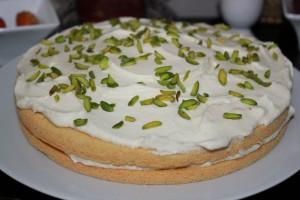 Cardamom Saffron Cake 01