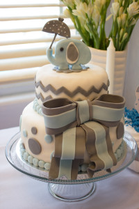 Baby Shower Elephant Cake copy
