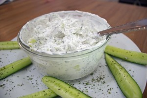 Cucumber Mint Yogurt
