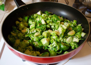 Brussels and Broccoli Salad 02
