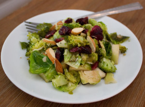 Brussels and Broccoli Salad 03