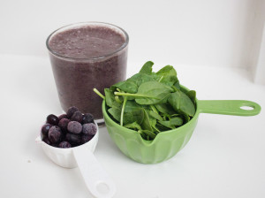 Blueberry Protein Smoothie (2)