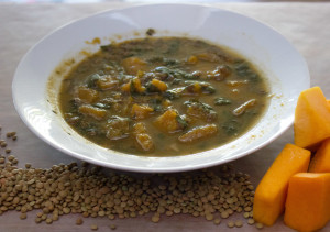 Butternut Squash and Lentil Soup 01