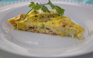 crustless leek quiche 03